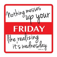 "Friday by Jace Grey - 13"" x 13"", FulcrumGallery.com brand"