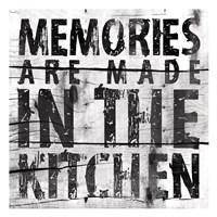 "Kitchen 2 (White Background) by Jace Grey - 13"" x 13"""