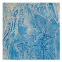 """Blue Abstract E by Jamie Watson - 13"""" x 13"""""""