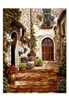 "Italian Alley by Nora St. Jean - 13"" x 19"""