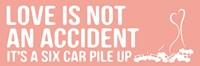 """Car Pile Up 1 by OnRei - 18"""" x 6"""", FulcrumGallery.com brand"""