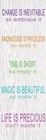 "Life is Precious by Taylor Greene - 6"" x 18"", FulcrumGallery.com brand"