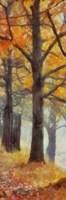 Amber Trail Panel II Fine Art Print