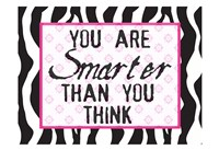 "Much Smarter Zebra by Taylor Greene - 19"" x 13"""