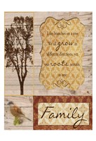 "Family Tree by Taylor Greene - 13"" x 19"""