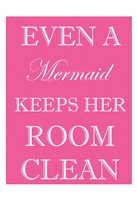 Mermaid Clean Room Fine Art Print