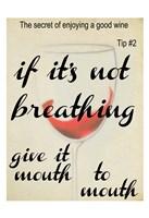 """Wine Secret 2 by Taylor Greene - 13"""" x 19"""""""