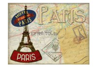 "Vintage Parise by Taylor Greene - 19"" x 13"""