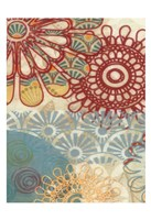 Flora Trance VI Framed Print
