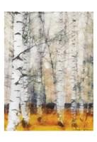 "Saffron Timber Panel IB by Taylor Greene - 13"" x 19"""