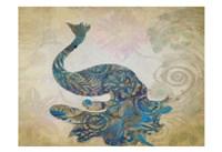 "Elegant Peacock 1 by Taylor Greene - 19"" x 13"""