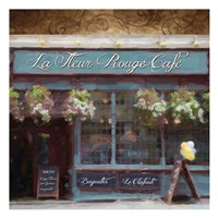 "Cafe Blue by Taylor Greene - 13"" x 13"", FulcrumGallery.com brand"