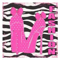 "Fashion Zebra by Taylor Greene - 13"" x 13"", FulcrumGallery.com brand"