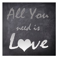 """All You Need by Taylor Greene - 13"""" x 13"""""""