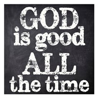 """God Is Good by Taylor Greene - 13"""" x 13"""" - $12.99"""
