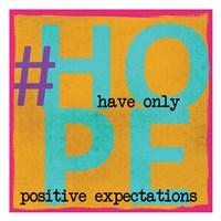 Hope 3 Framed Print