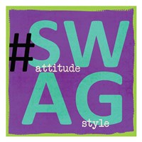 "Swag by Taylor Greene - 13"" x 13"" - $12.99"