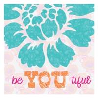 Be You Tifule Framed Print