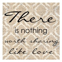 """There Is Nothing by Taylor Greene - 13"""" x 13"""" - $12.99"""
