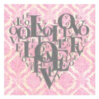 Heart Love I Fine Art Print