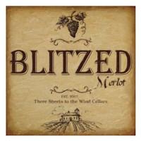 "Blitzed by Taylor Greene - 13"" x 13"", FulcrumGallery.com brand"