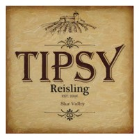 "Tipsy by Taylor Greene - 13"" x 13"" - $12.99"