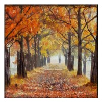 """Amber Trail 2 by Taylor Greene - 13"""" x 13"""""""
