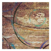 "Circle Around I by Taylor Greene - 13"" x 13"""
