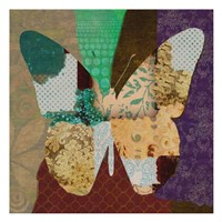 """Rise Above Butterfly by Taylor Greene - 13"""" x 13"""", FulcrumGallery.com brand"""