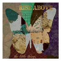 """Rise Above by Taylor Greene - 13"""" x 13"""", FulcrumGallery.com brand"""