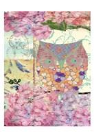 """Owl B by Elizabeth Jordan - 13"""" x 19"""""""