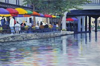 Riverwalk Fine Art Print