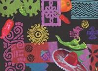 Fiesta (black) Fine Art Print
