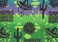 Fiesta (green) Fine Art Print