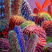 Barrel Cactus 4 by Sharon Weiser - various sizes