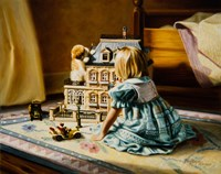 The Doll House Fine Art Print