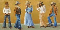 Western Cowgirls by Marless Fellows - various sizes