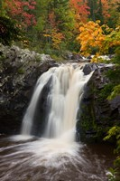 WI, Pattison SP, Little Manitou Falls, Black River by Jaynes Gallery - various sizes