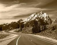 Teton Range, Grand Teton National Park, Wyoming by Adam Jones - various sizes