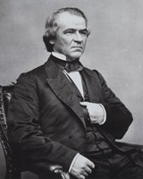 """Andrew Johnson, 17th President of the United States - 8"""" x 10"""""""