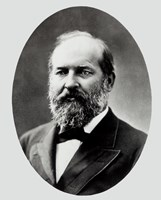 """James A. Garfield, 20th President of the United States - 8"""" x 10"""""""