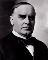 "William McKinley, 25th President of the United States - 8"" x 10"", FulcrumGallery.com brand"