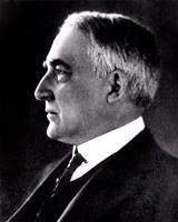 "Warren G. Harding, 29th President of the United States - 8"" x 10"""