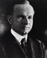 """Calvin Coolidge, 30th President of the United States - 8"""" x 10"""""""