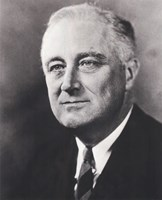 """Franklin D. Roosevelt, 32nd President of the United States - 8"""" x 10"""""""