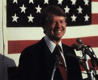 Jimmy Carter, 39th President of the United States Fine Art Print