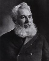 "Alexander Graham Bell, American inventor 1905, 1905 - 8"" x 10"""