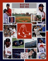 Boston Red Sox 2015 Team Composite Fine Art Print