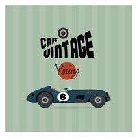 Vintage Racing 1 Fine Art Print