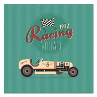 Vintage Racing 2 Fine Art Print